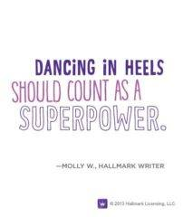 Dancing In Heels Should Count