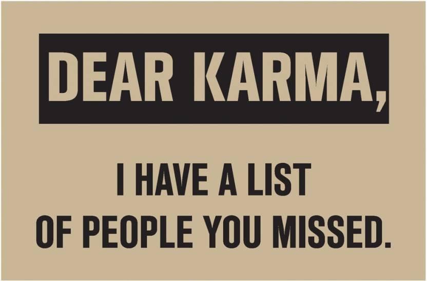 Dear Karma