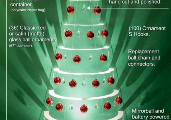 Decorated Wall Tree Specs