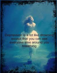 Depression Is A Lot Like Drowning