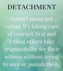Detachment Doesn't Mean Not Caring