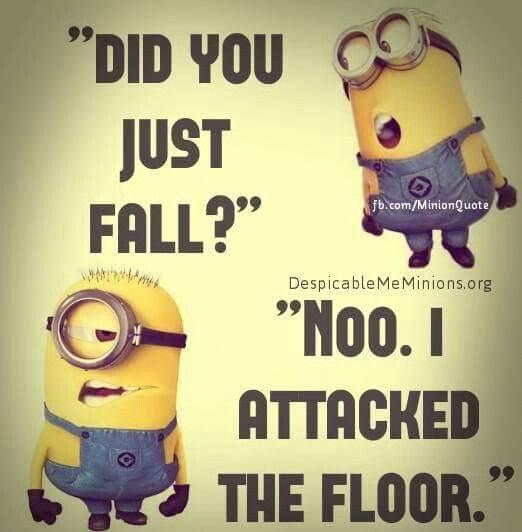 Did You Just Fall