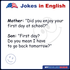 Did you enjoy your first day in school