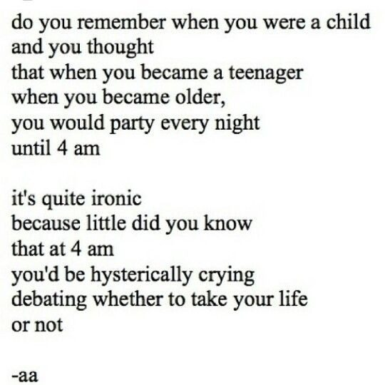 Do You Remember When You Were A Child