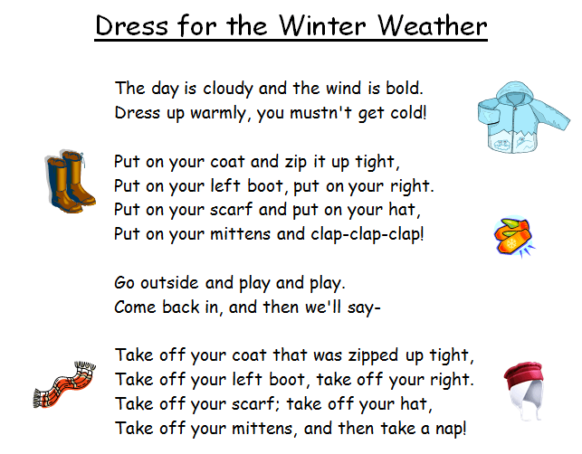 Dress for the Winter Weather