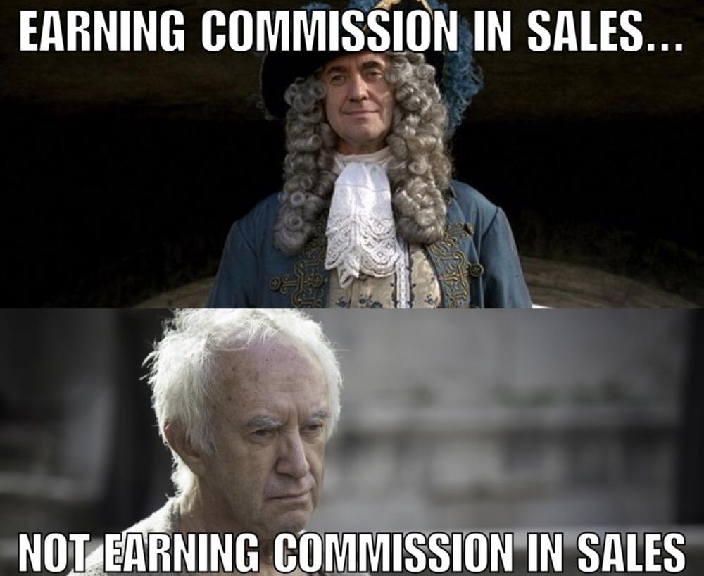 Earning Commission In Sales