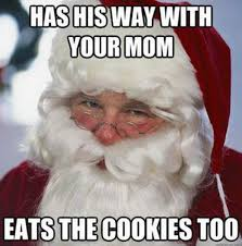 Eats the cookies too