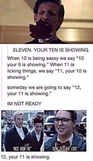 Eleven Your Ten Is Showing