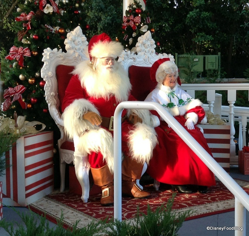 Epcot Holidays Around The World Santa