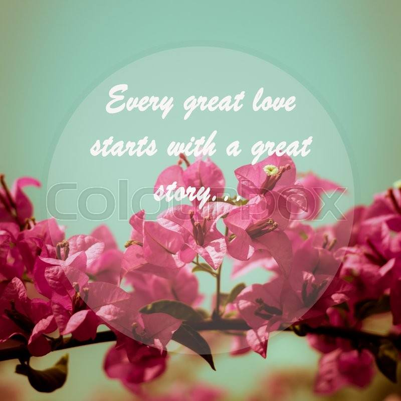 Every Great Love