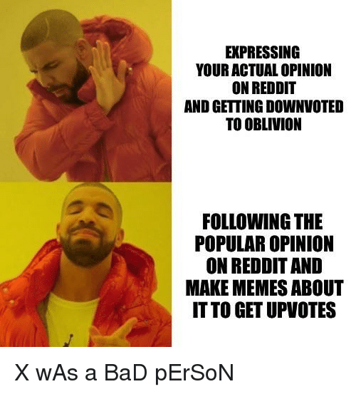 Expressing Your Actual Opinion