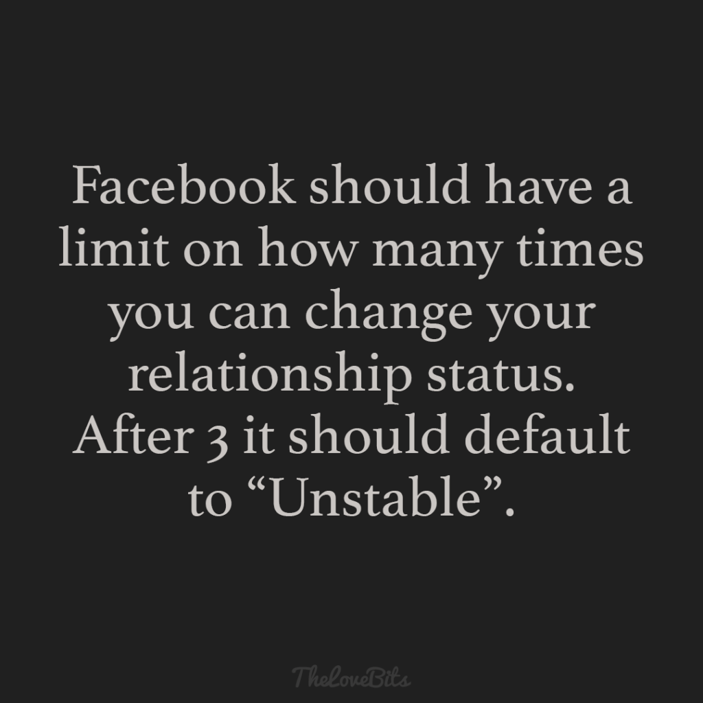 Facebook Should Have A Limit