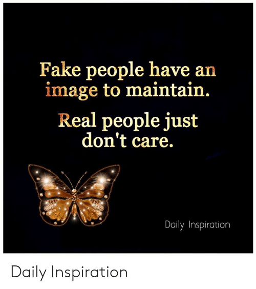 Fake People Have An Image