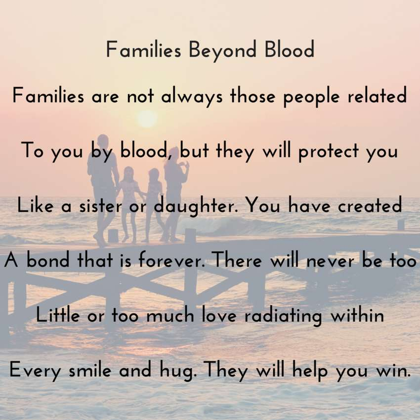 Families Beyond Blood