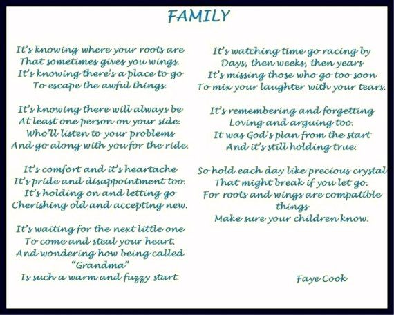 Family by Faye Cook