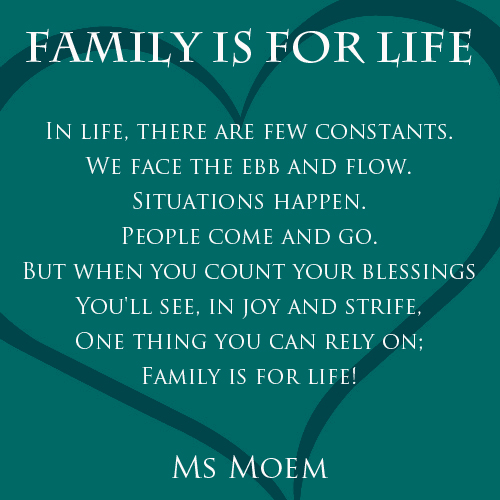 Family is for Life