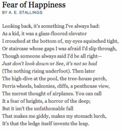 Fear of Happiness