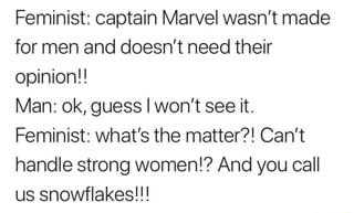 Feminist.. Man..