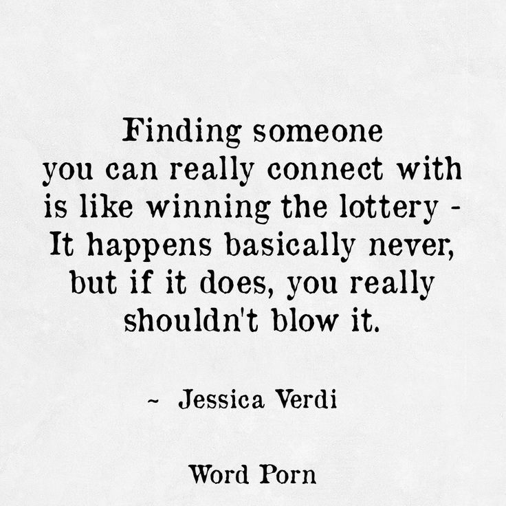 Finding Someone You Can Really Connect