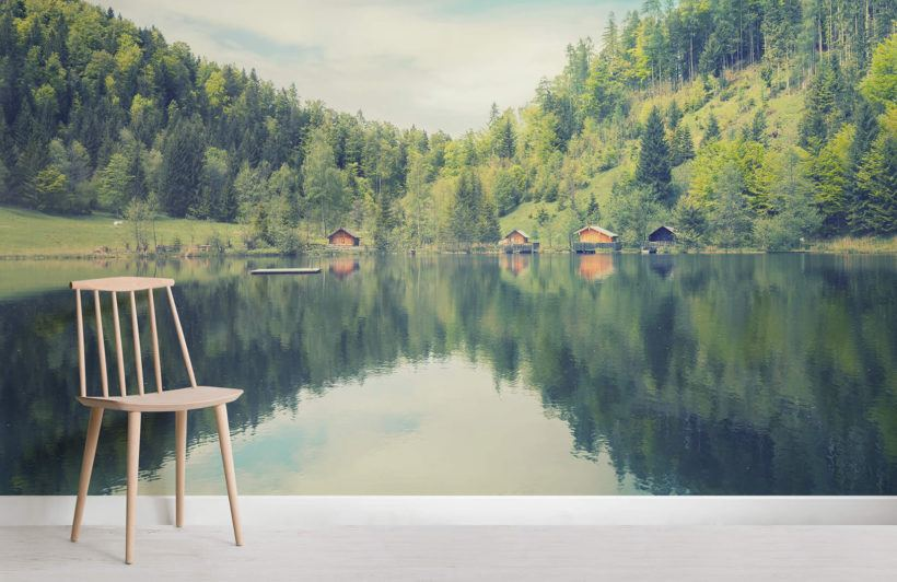 Finnish Lake Landscape Room