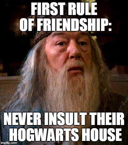 First Rule Of Friendship