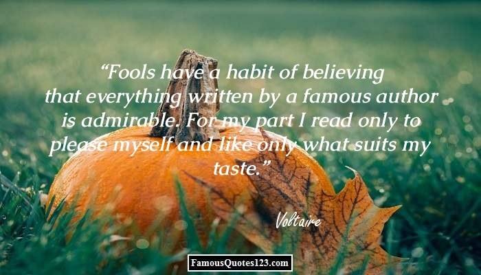 Fools Have A Habit