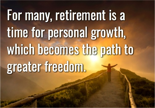 For Many Retirement
