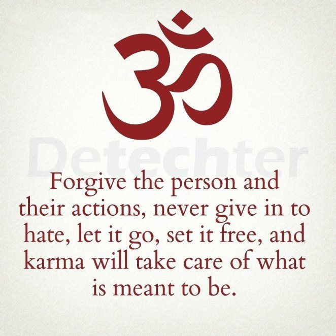 Forgive The Person