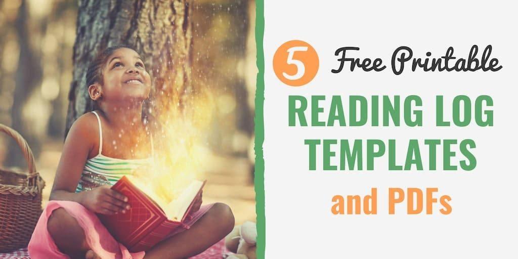 Free Printable Reading Log Template