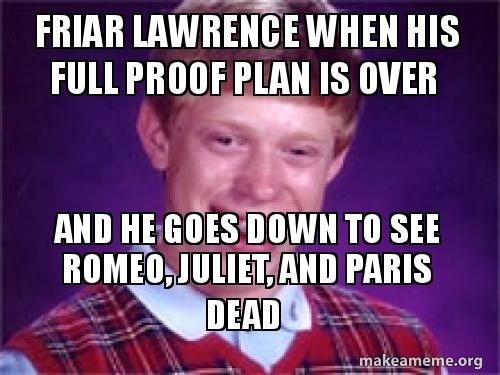 Friar Lawrence When