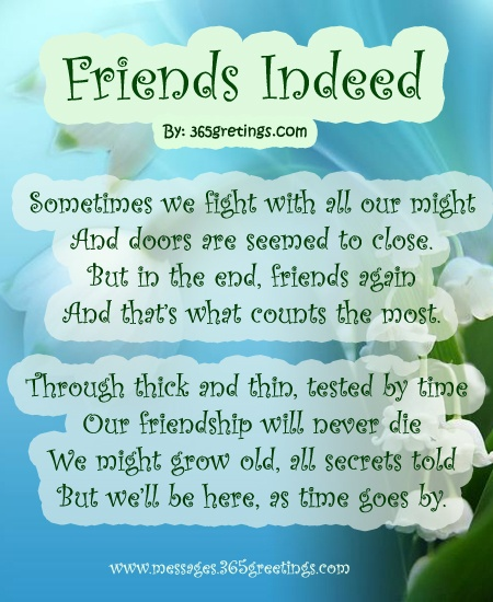 Friends Indeed
