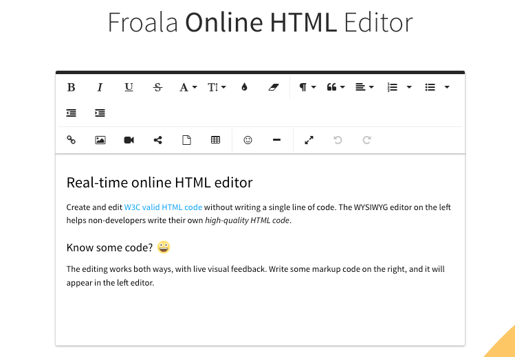 Best Online HTML Editors
