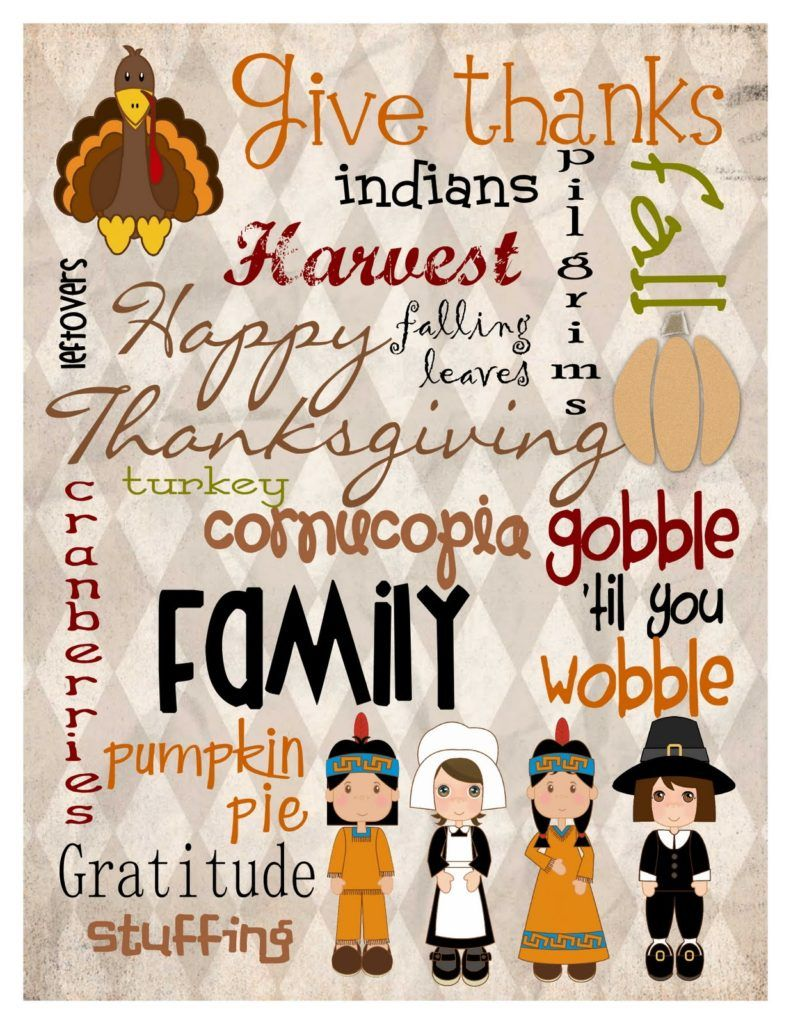 Give Thanks Indians