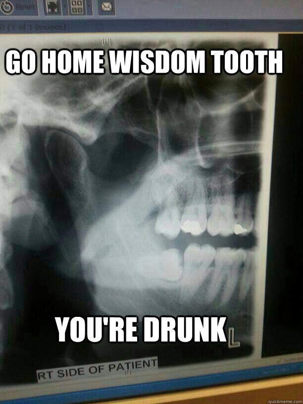 Go Home Wisdom Tooth