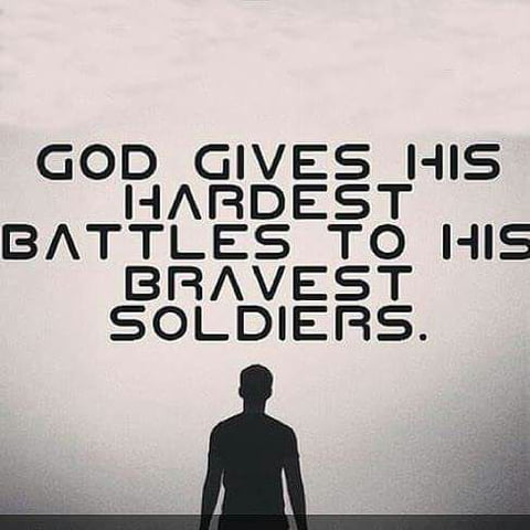 God Gives His Hardest