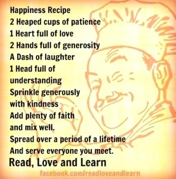 Happiness Recipe
