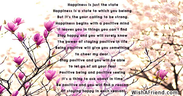 Happiness is just the State