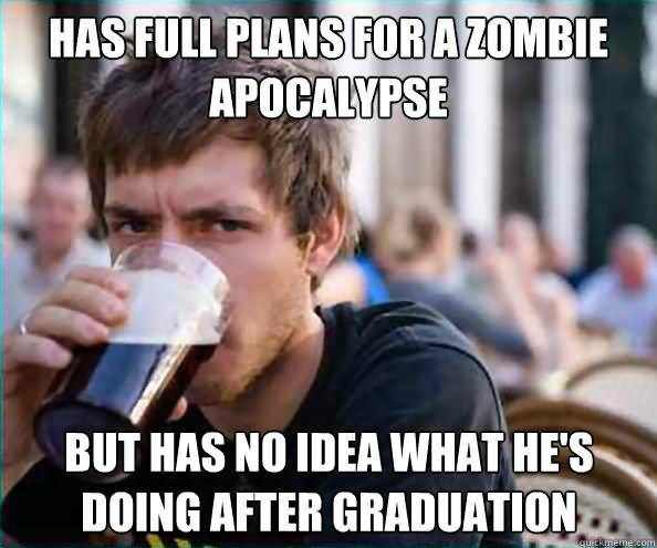 Has Full Plans For A Zombie