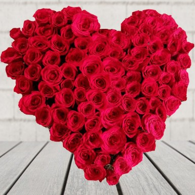 Heart Form Roses