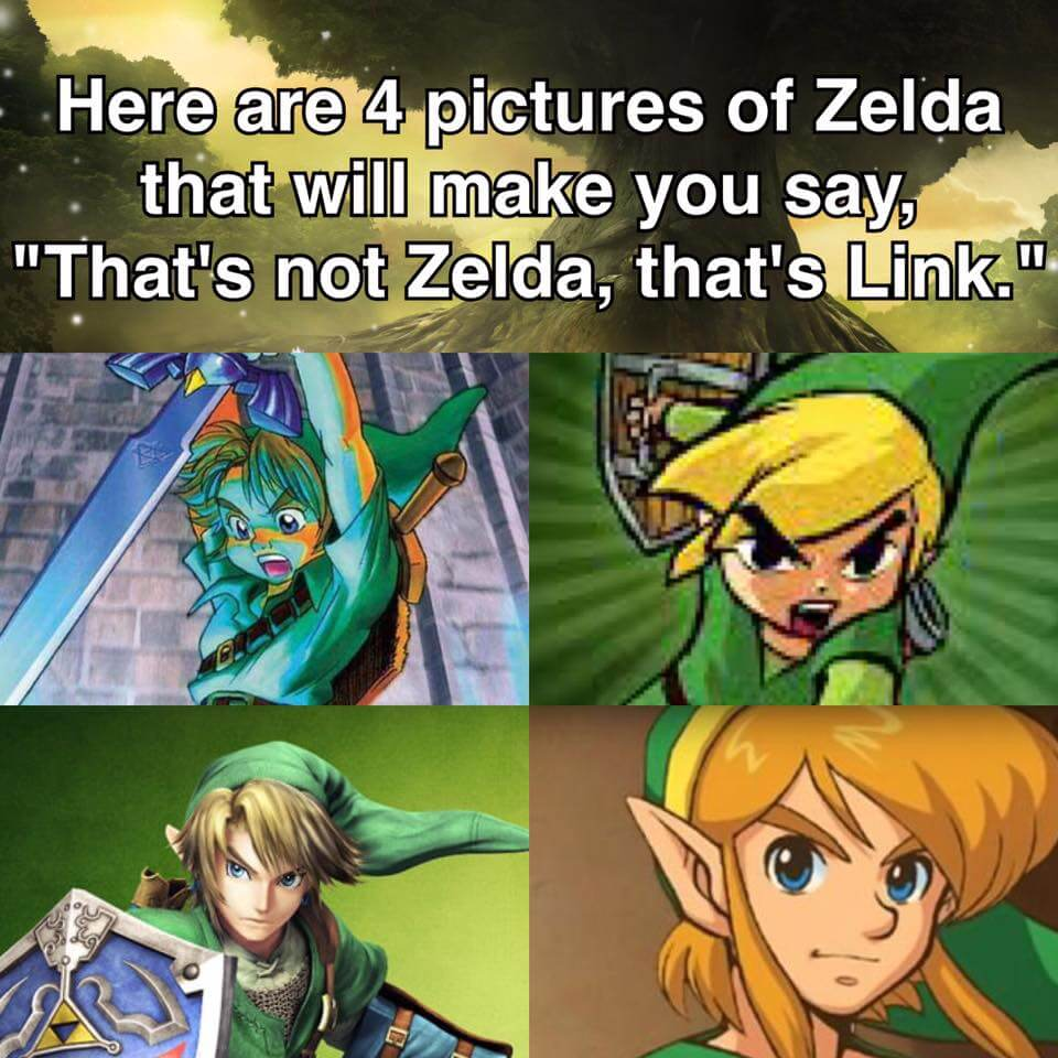 Here Are 4 Pictures Of Zelda