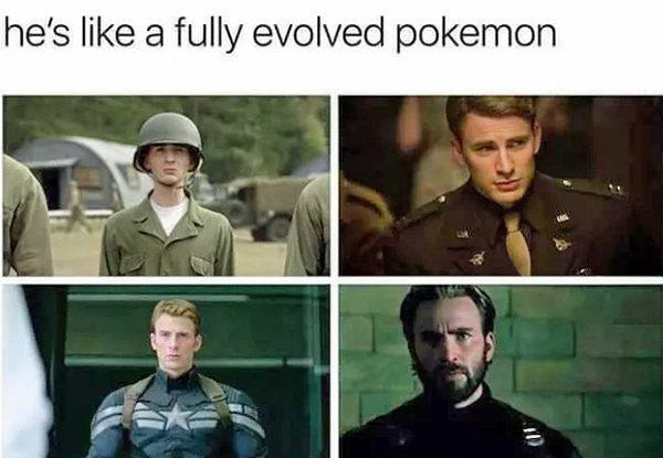 He's Like A Fully Evolved