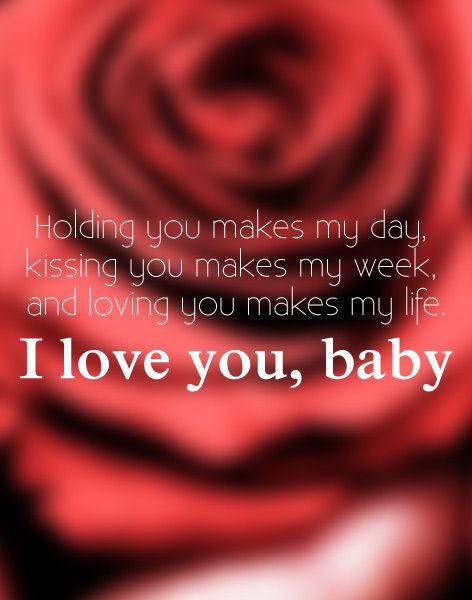 Holding You Makes My Day