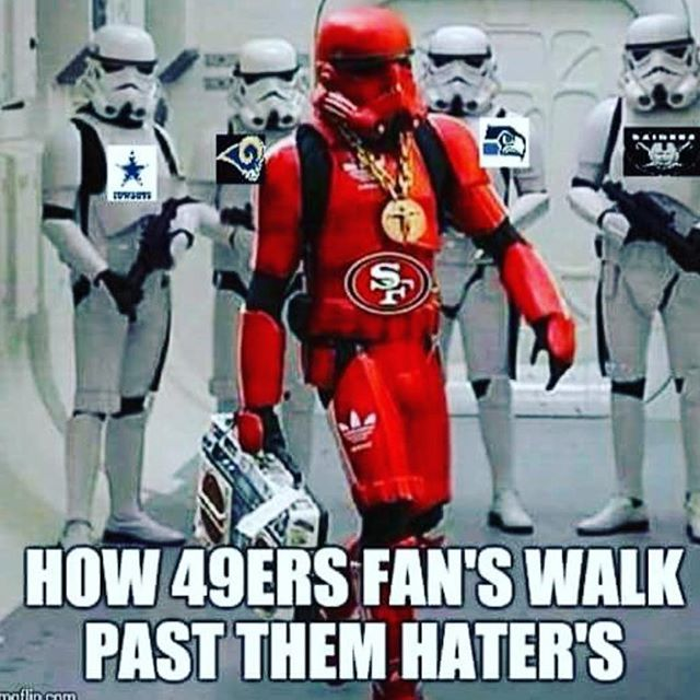 How 49ers Fan's Walk