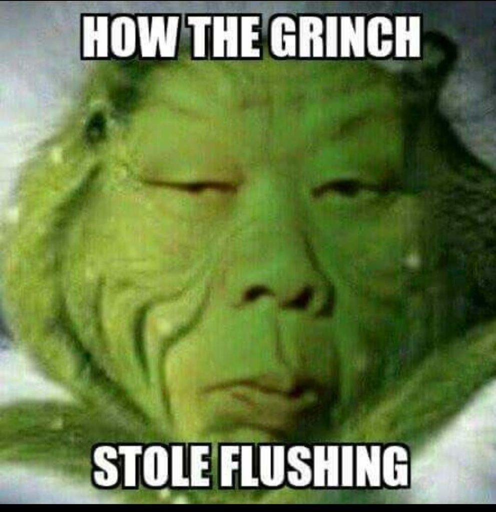 How The Grinch Stole Flushing