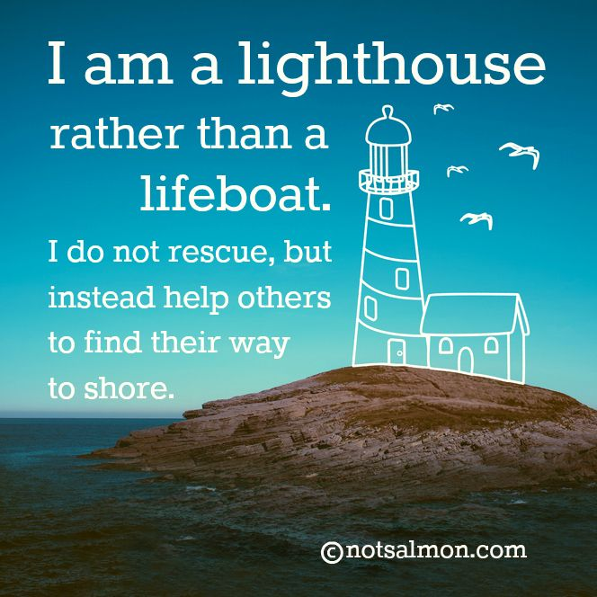 I Am A Lighthouse