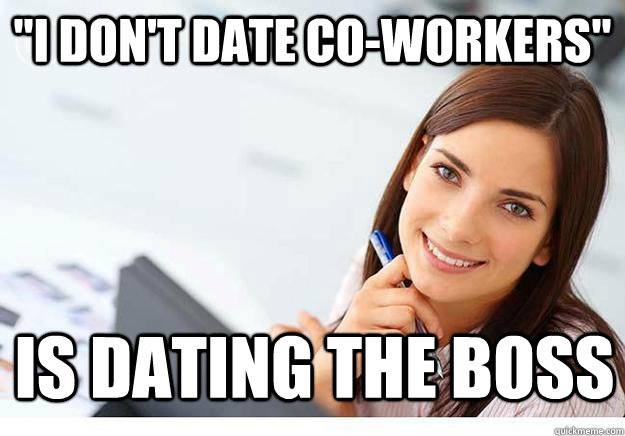 I Don't Date Co Workers