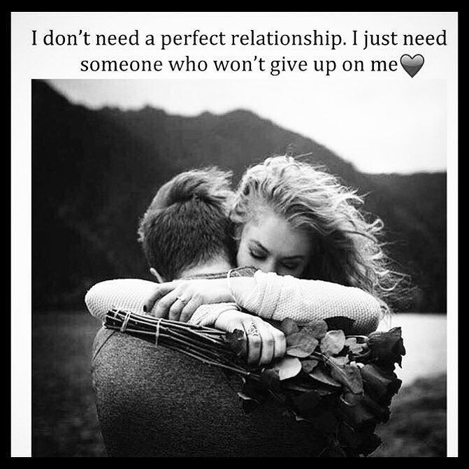 I Don't Need A Perfect