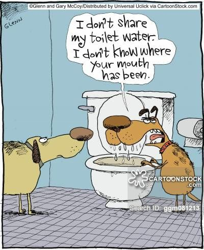 I Don't Share My Toilet Water