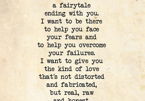 I Don't Want A Fairytale