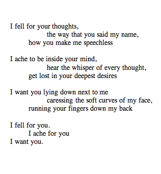 I Fell For Your Thoughts